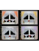 Firanka Zazdrostka model E 300/100 17 kolorów