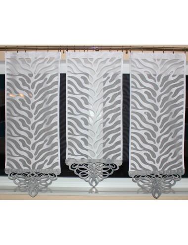 Panel Azur Srebrny s1 Zebra 3x60cm