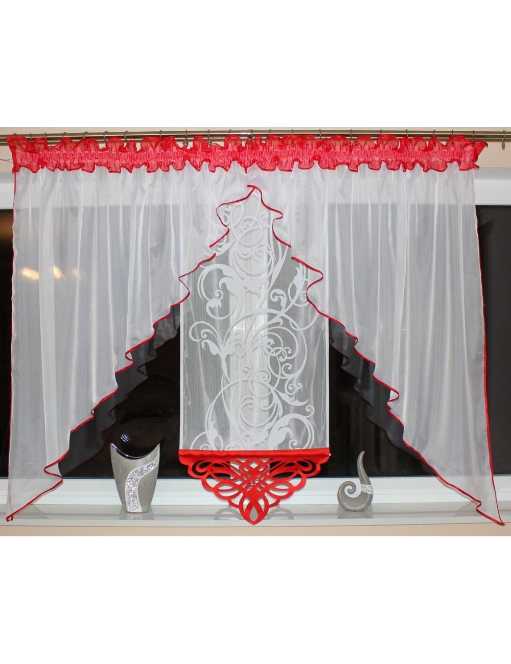 Anita Ażur czerwona s2 Kwiat 400/150