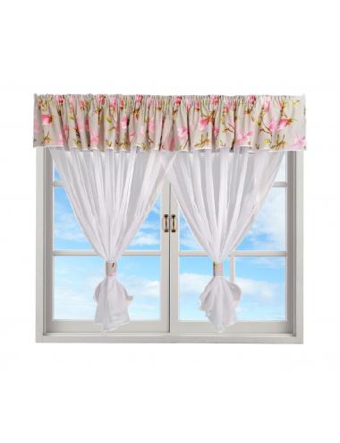 Firanka na okno Ada Róż...