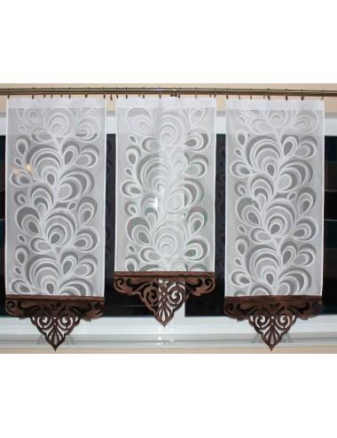 Panel Azur Braz s1 Pawie oka 3x60cm
