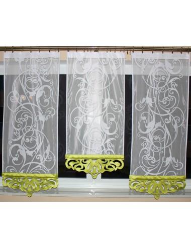 Panel Azur Zielony s3 Kwiat 3x60cm