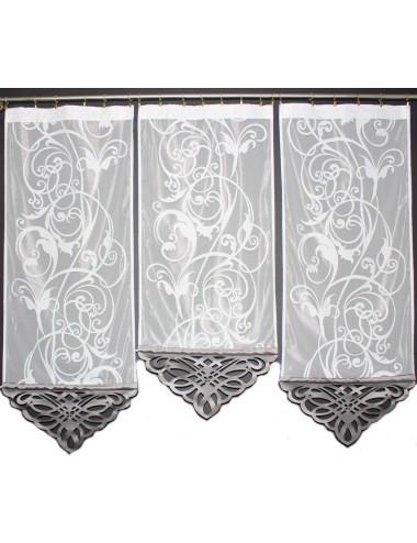 Panel Azur Szary Kwiat 3x60cm