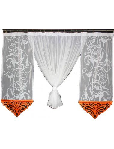 Regina Kokon Azur Pomarańczowa  2x60cm