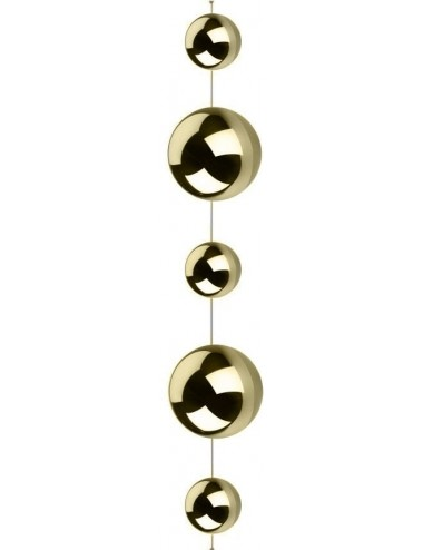 Kule Złote stalowe 6cm-10cm...